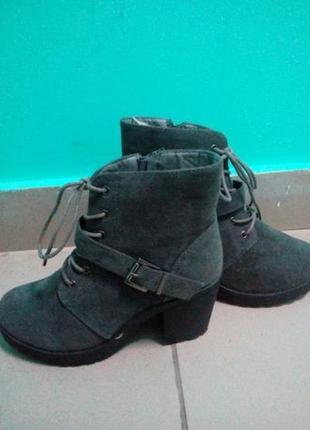 Ботинки новые р. 37