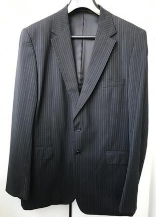 Деловой шерстяной пиджак