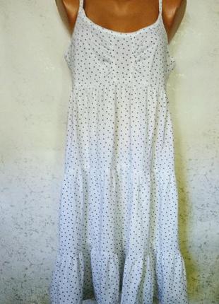 Новая ночнушка платье в принт сердечки 16/50-52 размера