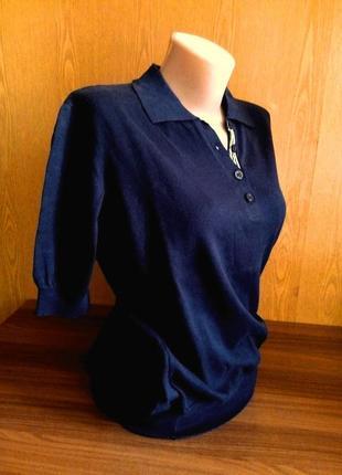 Качественная трикотажная кофточка mabrouk вискоза блузка