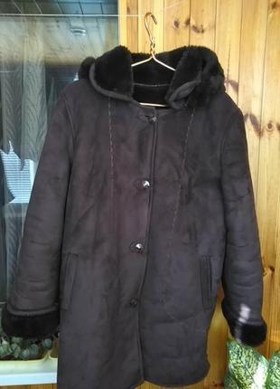 Куртка, дубленка, разм. 54
