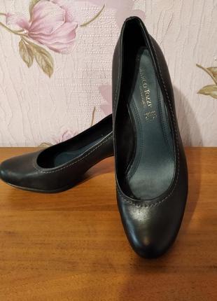 Туфли женские кожаные немецкой фирмы marco tozzi