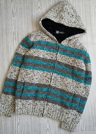 Куртка вязаная шерстяная италия
