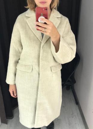 Пальто, в составе шерсть
