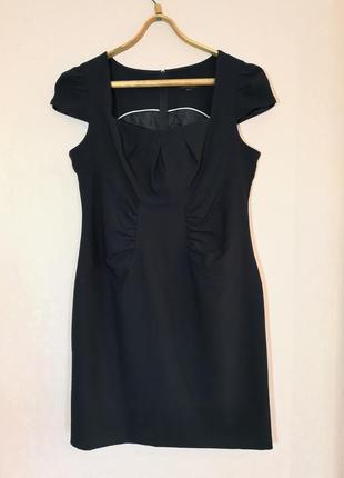 Офисное платье футляр сарафан