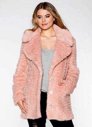 Актуальное/трендовое/меховое пальто тедди oversize teddy bear coat rainbow/max mara.