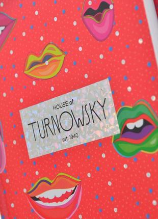 Новый блокнот yes turnowsky pattern lips губы в линию на подарок