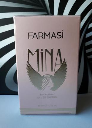 Женская парфюмированная вода mina от farmasi