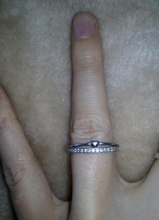 Кольцо колечко серебро срібло 16.5
