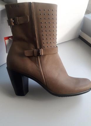 Ecco нові шкіряні чобітки