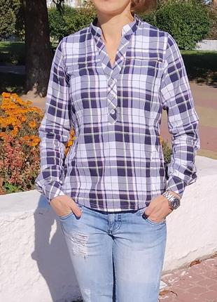 Модная рубашка в клеточку tierra
