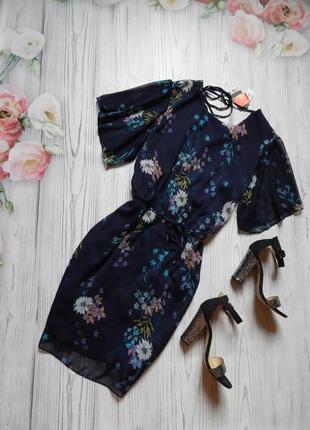 Восхитительное, освежающее платье в цветочный принт от george. размер 4xl-5xl