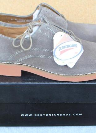 Новые туфли bostonian замша сша 41,43,44,45,46,46,5р оригинал