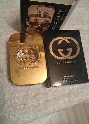 Gucci guilty, туалетная вода,75 ml