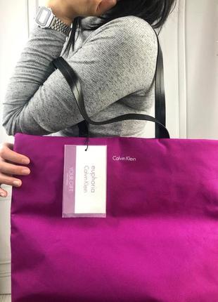 Шопер calvin klein, это-торба, эко-сумка