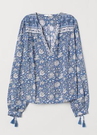 Блуза женская с м h&m