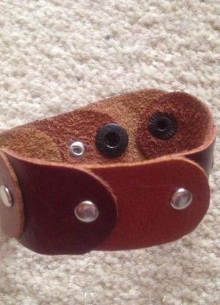 Кожаный браслет hand-made