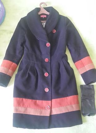 Кашемірове пальто на теплу осінь
