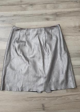 Срібляста юбка