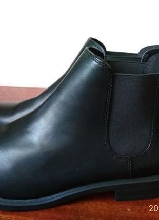 39р.h&m стильные ботинки-челси (полусапожки)