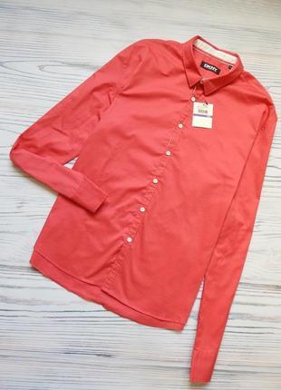 Обалденная мужская рубашка от известного бренда donna karan new york. размер xxl.