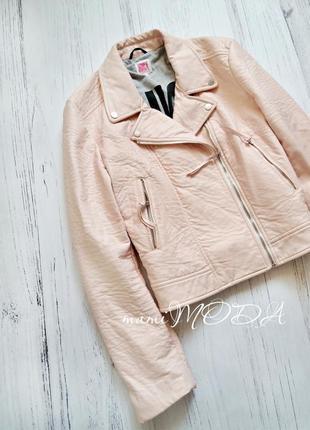 Нежно розовая плотная теплая косуха от juicy couture size xl