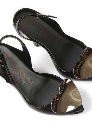 Шикарные дизайнерские босоножки туфли от vivienne westwood & melissa, p.
