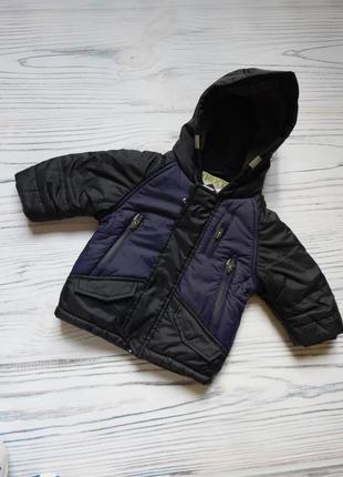 Шикарная, стильная куртка, полу пальто от next. возраст 6-9 месяцев.