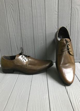 Кожаные туфли asos