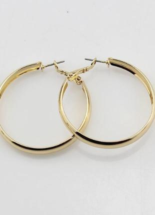 Серьги кольца, сток европа2 фото
