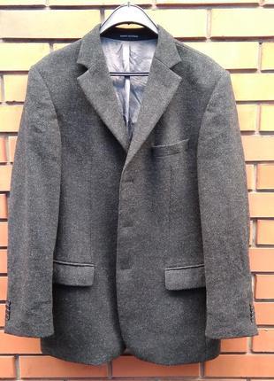 Мужской шерстяной пиджак daniel hechter