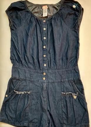 Ромпер легкий джинс