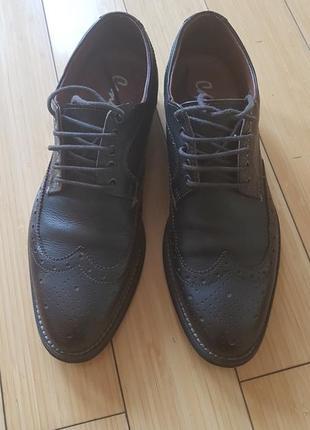 Туфли мужские кожаные италия (42р.)