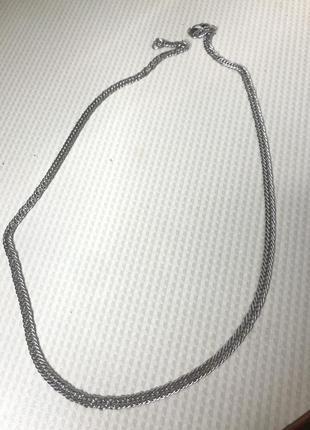 Цепочка серебренная новая !! широкая