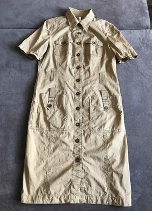 №5 платье сорочка сафари marc cain