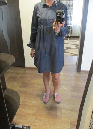 Джинсовое платье рубашка  португалия celtic&co
