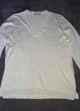 Нежный шелковый пуловер nile