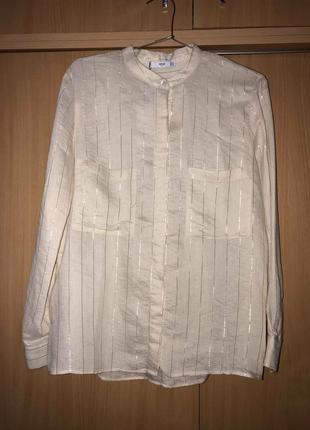 Классная базовая рубашка блузка mango