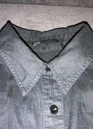 100% лен классная рубашка closed