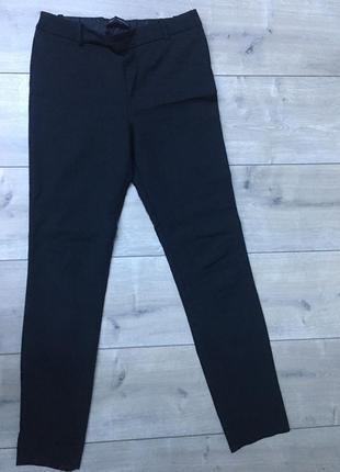 Базові чорні брюки zara