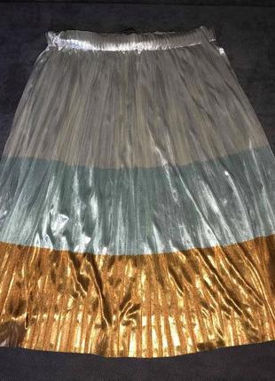 Супер классная юбка плиссе zara