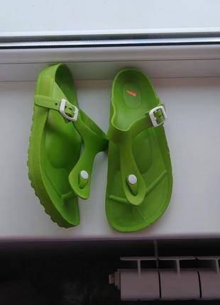 Стильные босоножки сандалии как биркенштоки
