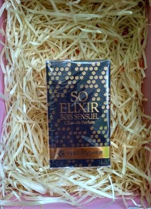 Парфуми/туалетна вода yves rocher so elixir bois sensuel 100 ml