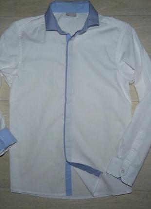 Белая рубашка next 11 лет