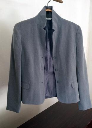 Крутой актуальный серый пиджак next жакет на пуговицах