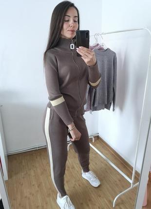 Вязаный костюм 🍁🔥