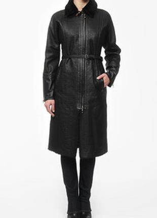 Искусственная шуба-пальто под натуралку gianfranco ferre италия,оригинал р.s