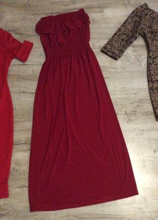 Удобное и приятное к телу платье в пол