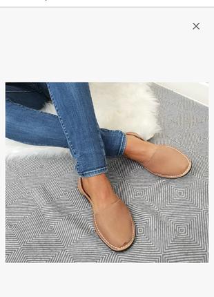 Кожаные босоножки сандалии менорки,  nagore menorca