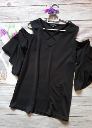 Стильная блузка свободного кроя